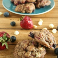 Red, White & Blue: Fourth of July Cookies