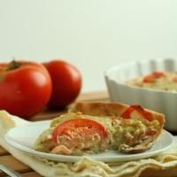 Tomato Pesto Tart: Guest Posting
