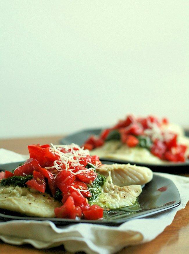 Parmesan Pesto Tilapia 3
