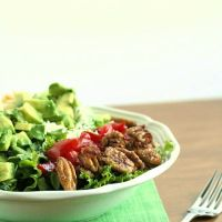 Waldorf Cobb Salad with Apple-Sorghum Vinaigrette