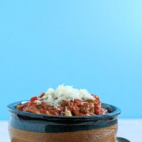 {Slow Cooker} Lasagna Soup
