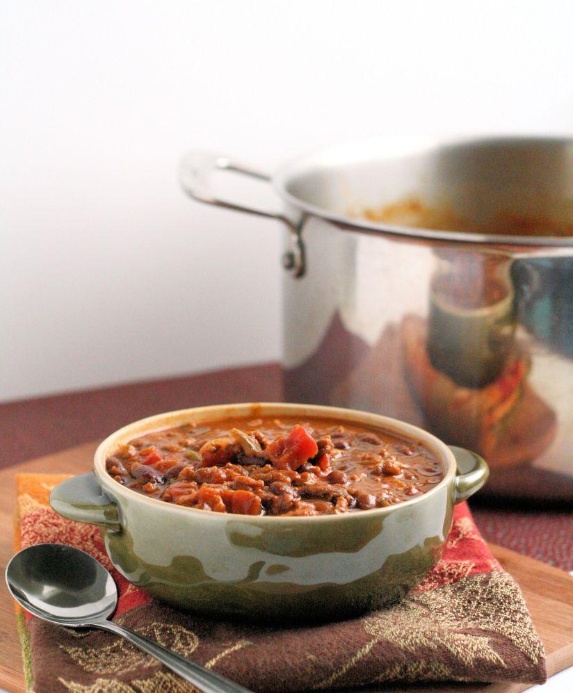 Pumpkin and Black Bean Chili 2