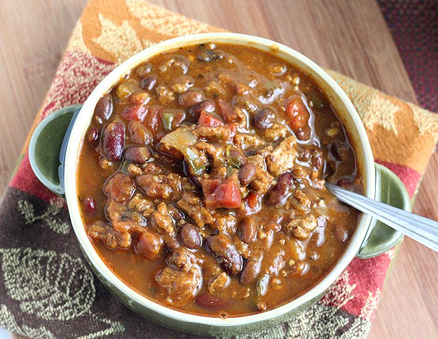 Pumpkin and Black Bean Chili 4