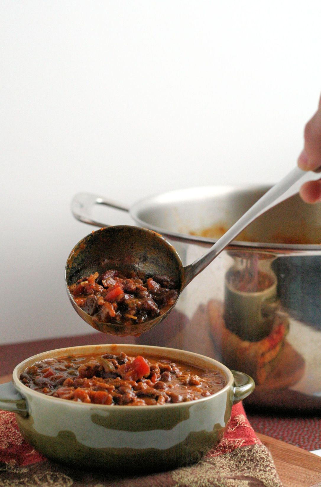 Pumpkin and Black Bean Chili 5