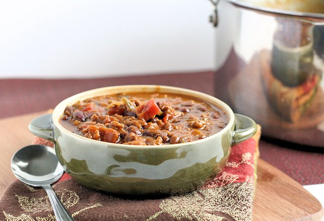 Pumpkin and Black Bean Chili