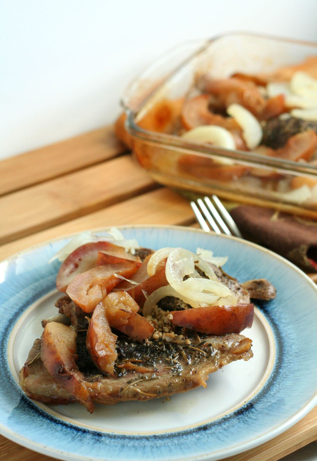 Slow Roasted Apple Pork Chops 2