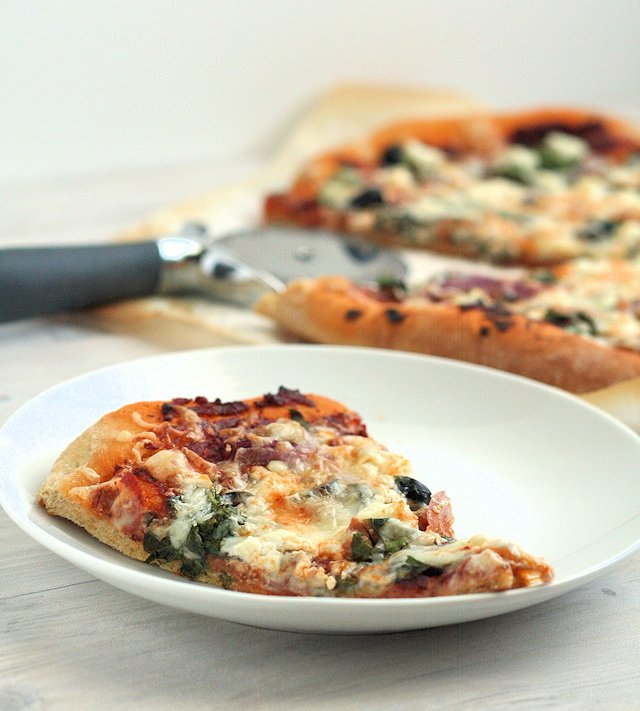 Fall Harvest Supreme Pizza 3