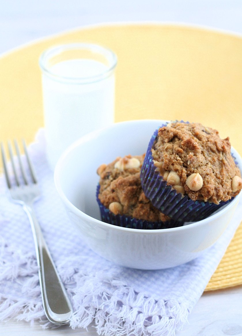 Healthy Whole Wheat Banana Muffins 2