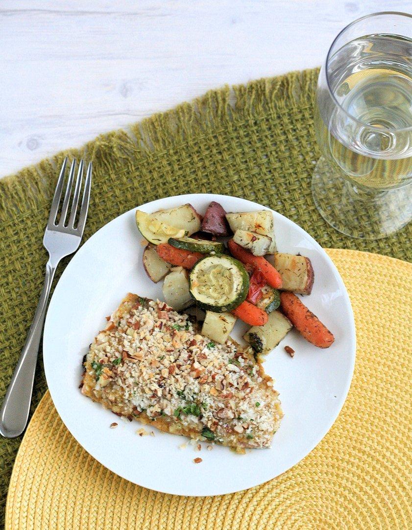 Pecan Crunch Salmon 4
