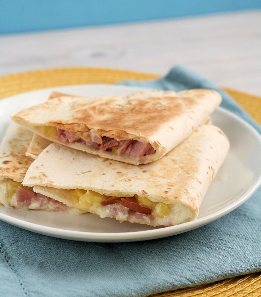 Hawaiian-Ham-Quesadillas1