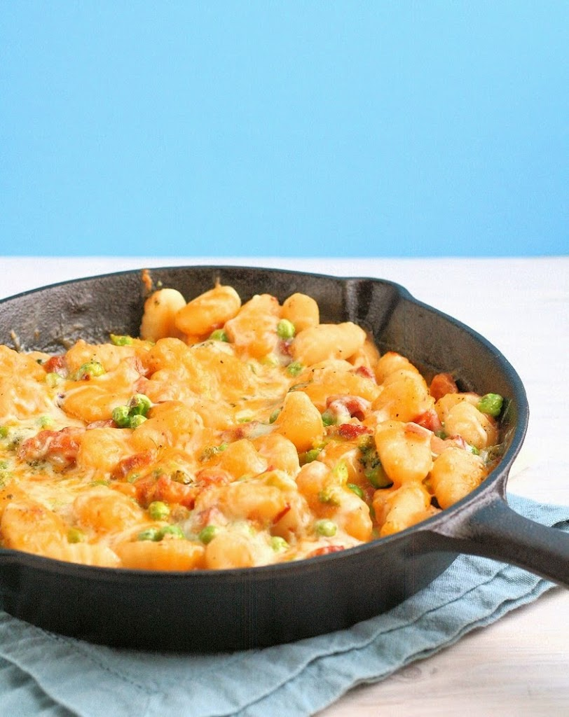Skillet-Ham-and-Cheese-Gnocchi-21