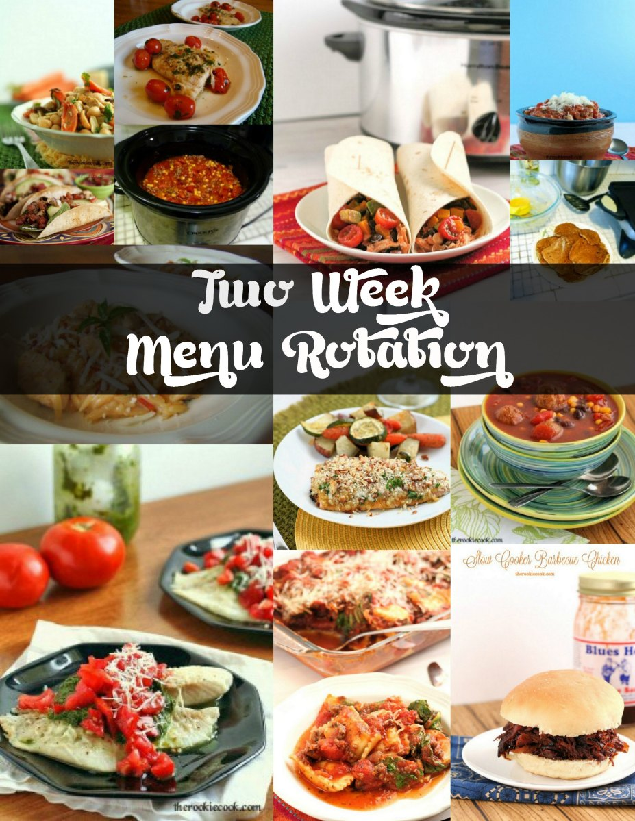 Two Week Menu Rotation